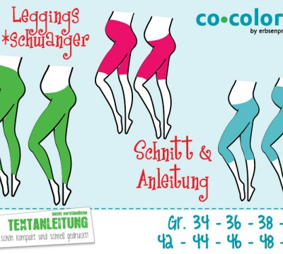 Ebook - Schwanger Leggings Gr. 34 - 50
