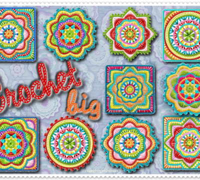 Stick Datei - Crochet-BIG 10x10
