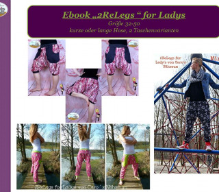 Ebook - Hose 2Re Legs for Ladys Gr. 32 - 50