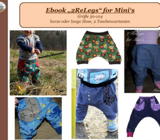 Ebook - Hose 2Re Legs for Minis Gr. 50 - 104