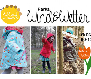 Ebook - Wind & Wetter Parka - Gr 80 - 170