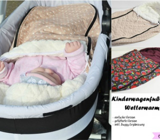 Ebook -  Kinderwagenfußsack Wetterwarm