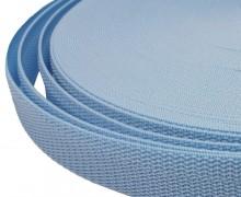 1 Meter Gurtband - Hellblau (183) - 25mm