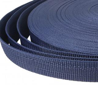 1 Meter Gurtband - Dunkelblau (330) - 20mm