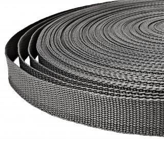 1 Meter Gurtband - Dunkelgrau (312) - 25mm