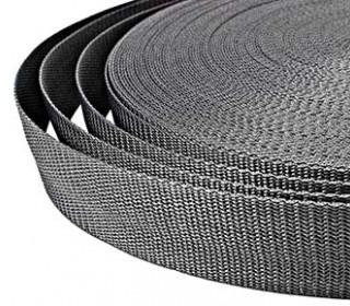 1 Meter Gurtband - Graphitgrau (319) - 40mm