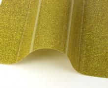 A4 ExtraBling - Bügelfolie - Glitzereffekt - Gelb