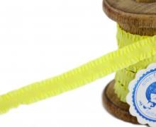 1m Gummiband - Rüschen - 13mm - Gelb