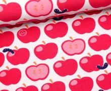 Jersey-GOTS-Äpfel mit Wurm-Spooky Wurm-Nancy Kers