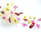 10 Stoffklammern - Quilt Clips - Klein - Pink