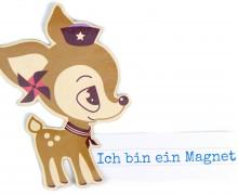 Dein Geschenk - 1 Magnet - HafenKitz - Mützchen  - NIKIKO