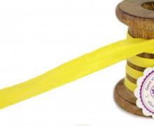 1m Faltgummi - Faltband-15mm-Glanz-Gelb