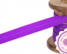 1m Faltgummi - Faltband - 15mm - Violett