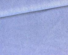 Jeansstoff - Uni - Blau