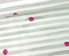 Jersey - Spielerische Streifen - Kaktusfreunde - Hellgrau/Weiß