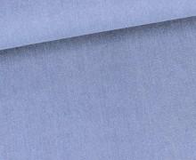 Jeansstoff - Stretch - Uni - Blau