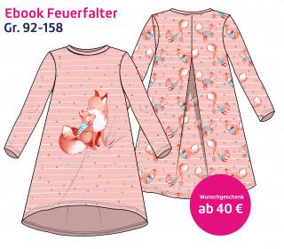 Dein Wunschgeschenk - Ebook Feuerfalter - Kleidchen - Gr. 92-158