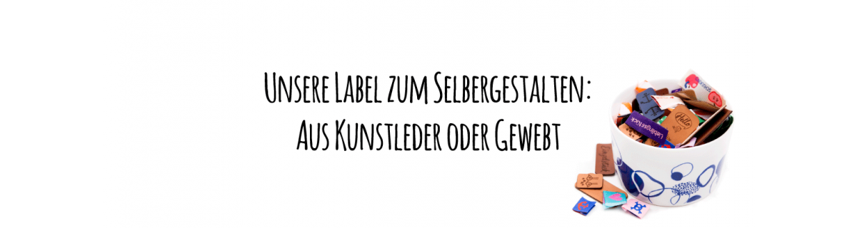 Individualisierbare Label