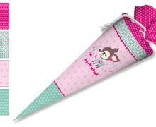 DIY-Nähset Schultüte - Nikiko - HafenKitz - Pink - zum selber Nähen