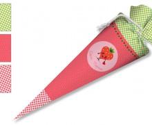 DIY-Nähset Schultüte - Erdbeere - zum selber Nähen