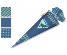 DIY-Nähset Schultüte - Dinosaurier - zum selber Nähen