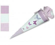 DIY-Nähset Schultüte - Schmetterling - zum selber Nähen