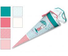 DIY-Nähset Schultüte - formenfroh - Hasenmädchen - zum selber Nähen