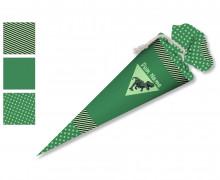 DIY-Nähset Schultüte - Dinosaurier grün - zum selber Nähen