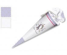 DIY-Nähset Schultüte - Einhorn Lila - zum selber Nähen