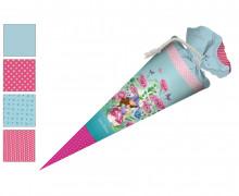 DIY-Nähset Schultüte - Wildblume Illustration - Pilzfee - zum selber Nähen