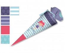 DIY-Nähset Schultüte - Nikiko - Matrosen Mädchen - zum selber Nähen