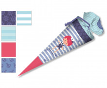 DIY-Nähset Schultüte - Nikiko - Matrosen Junge - zum selber Nähen