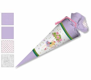 DIY-Nähset Schultüte  - Wildblume-Blütenschirm