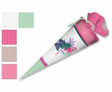 DIY-Nähset Schultüte - Flamingo - zum selber Nähen