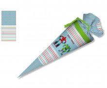 DIY-Nähset Schultüte - Zwei Roboter - zum selber Nähen