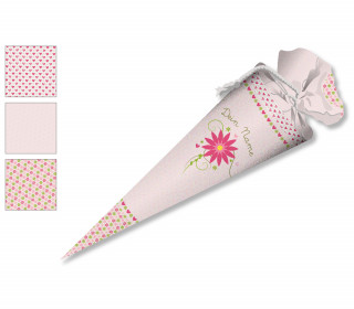 DIY-Nähset Schultüte - Blume - zum selber Nähen