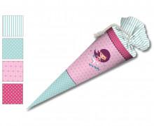 DIY-Nähset Schultüte - Nikiko - MeerMädchen - Pink - zum selber Nähen