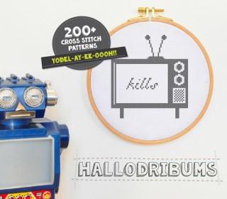 Stickdatei - TV Kills - Kreuzstichmuster - Handstick Datei