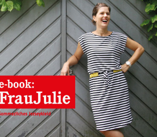 Ebook - Kleid - FrauJULIE - Damenkleid - Doppelgrößen XS-XL