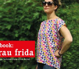 Ebook - Bluse - Frau FRIDA -Lässige Sommerbluse - Größe XS-XL