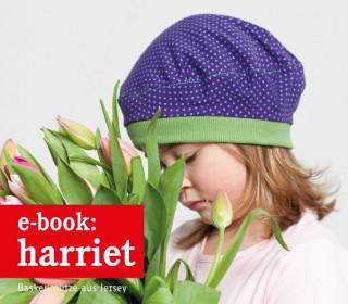 Ebook - Mütze - HARRIET - Jerseybaske