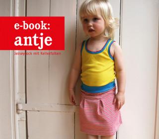 Ebook - Rock - Antje: ein gemütlicher Jerseyrock für Mädchen