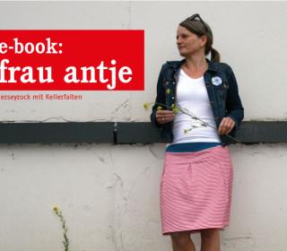 Ebook - Rock - FrauANTJE - gemütlicher Jerseyrock für Damen