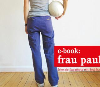 Ebook - Hose - FrauPAULI - coole Sweathose mit tollen Taschen