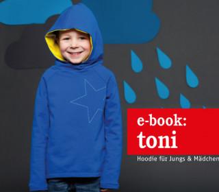 Ebook - Kapuzenpulli - TONI - Kapuzensweater für Jungs & Mädchen - Doppelgrößen 86-152