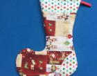 kostenlose Nähanleitung einfache Nikolaussocke