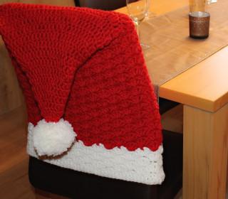 Ebook - Häkelanleitung Weihnachtliche Stuhlhusse - Maschenmitliebe
