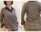 Ebook - Cross-Over Shirt - Größe 34 - 46 - Follow Me Design