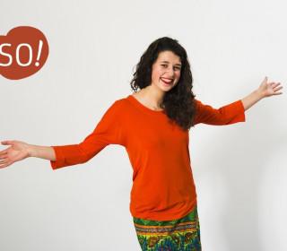 Ebook - Shirt - MARITA von SO!   XS - 2XL