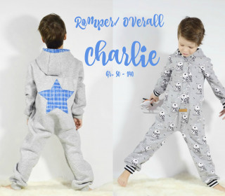 EBOOK  CHARLIE ROMPER INDOOR & OUTDOOR GR. 50-140